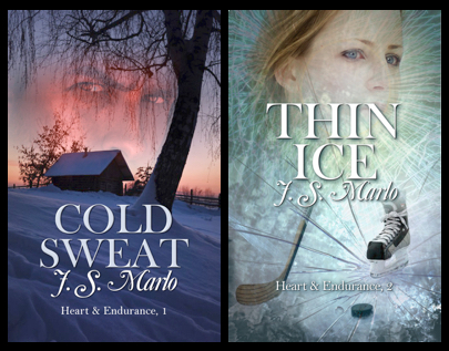 Book covers for Cold Sweat and Thin Ice