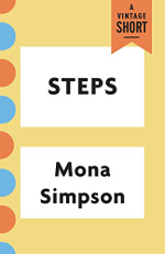 Book cover for Steps: text with some small graphic elements