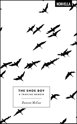 The Shoe Boy book cover: black birds on a white background