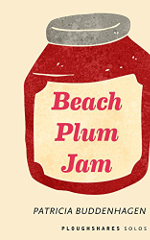 Beach Plum Jam book cover, a picture of a jar of beach plum jam.